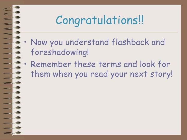 Foreshadow Flashback