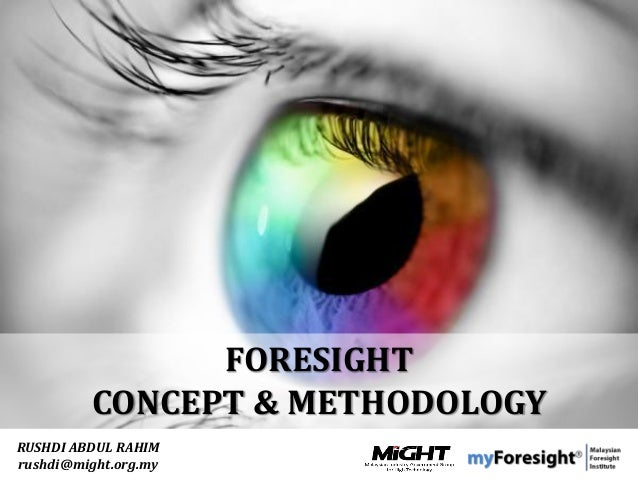 . This presentation by myForesight – Malaysian Foresight Institute is licensed under a Creative Commons Attribution 3.0 un...