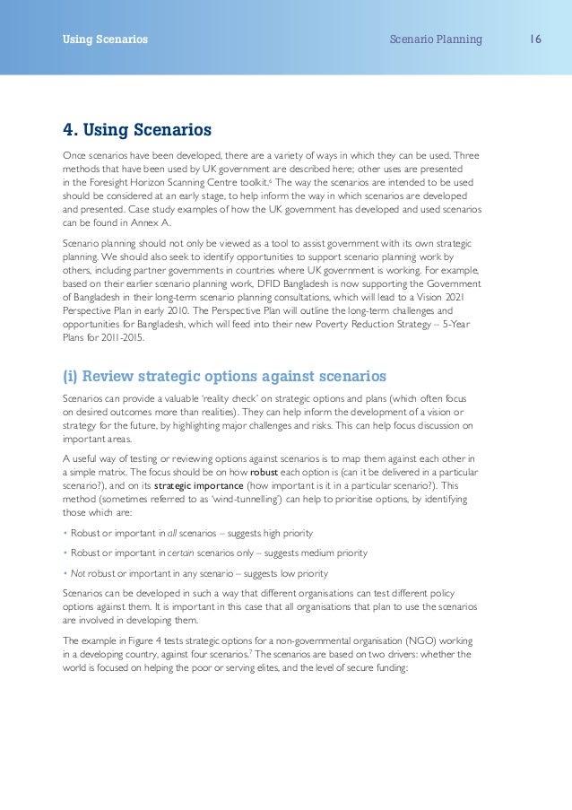 Using Scenarios                                                                   Scenario Planning        164. Using Scen...