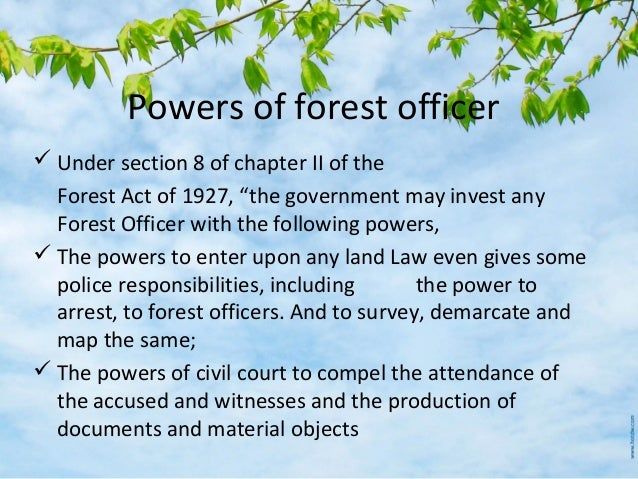 Indian Forest Act 1927 Pdf