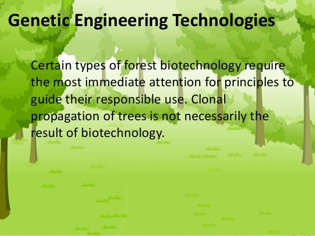forest biotechnology Books forest biotechnology thriving despite controversy molecular genetics and from bio g 103 at cornell.
