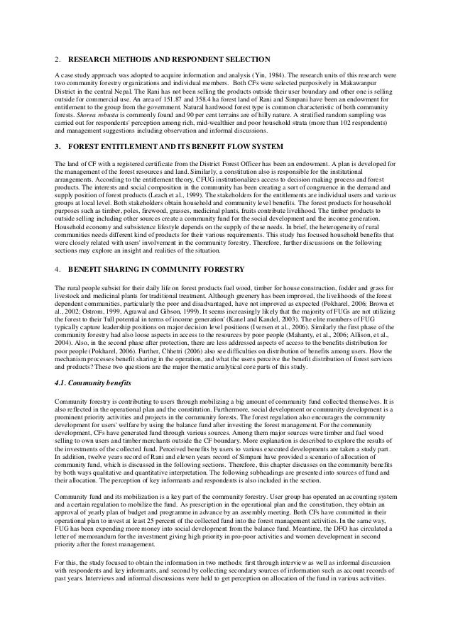 essay on forest of nepal