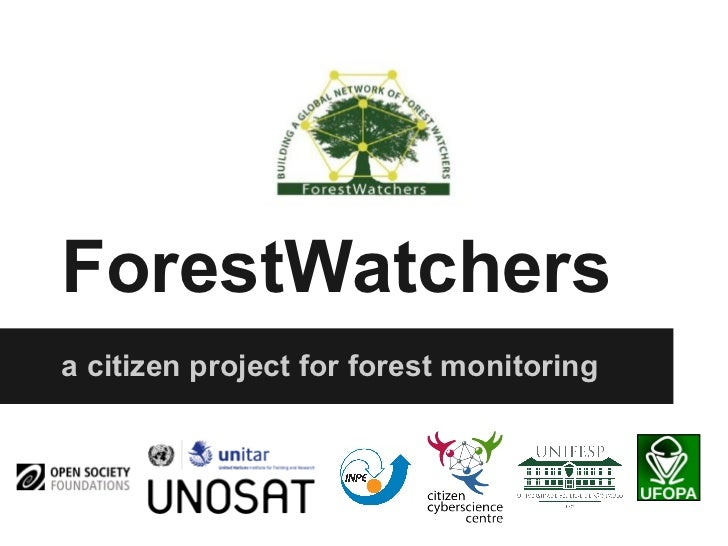ForestWatchersa citizen project for forest monitoring
