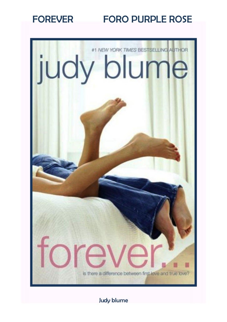 FOREVER    FORO PURPLE ROSE          Judy blume