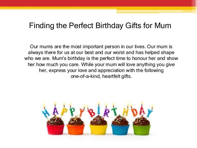 the best birthday gifts for mum