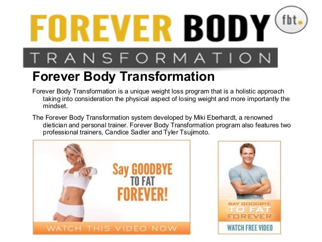 Forever Body TransformationForever Body TransformationForever Body Transformation is a unique weight loss program that is ...