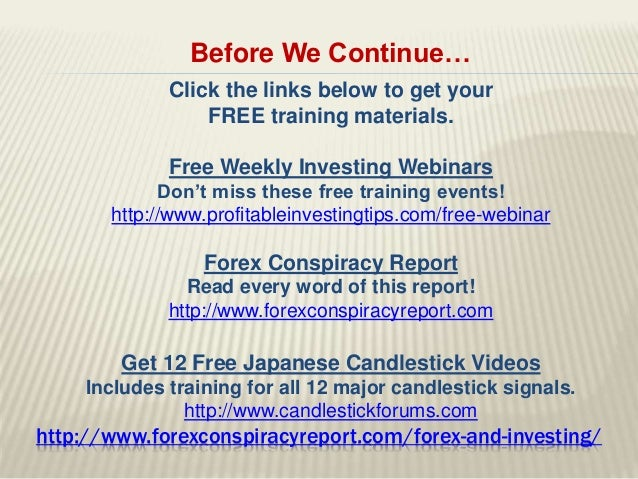 Forex investment advice