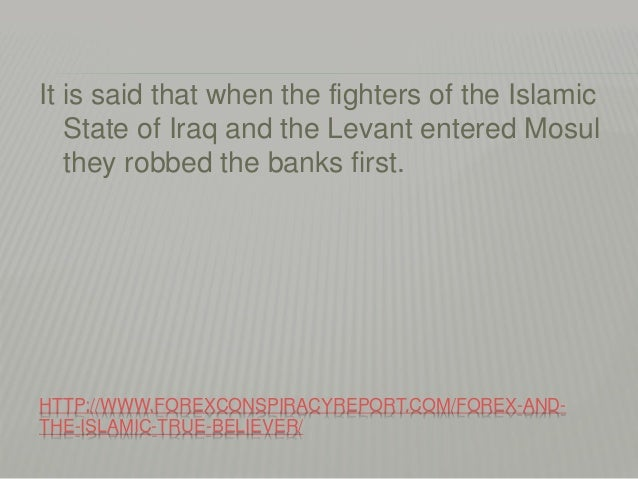 Forex and islam