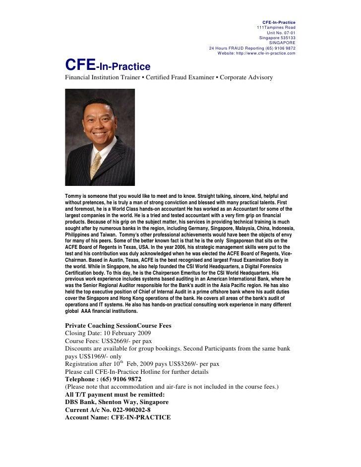 Forex audit program