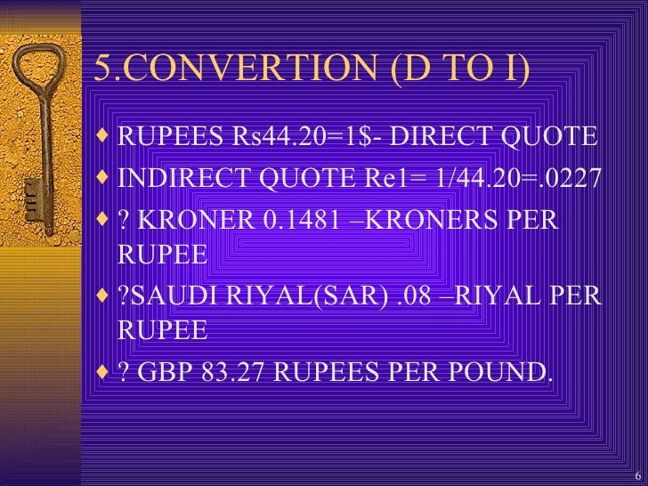Forex convertion