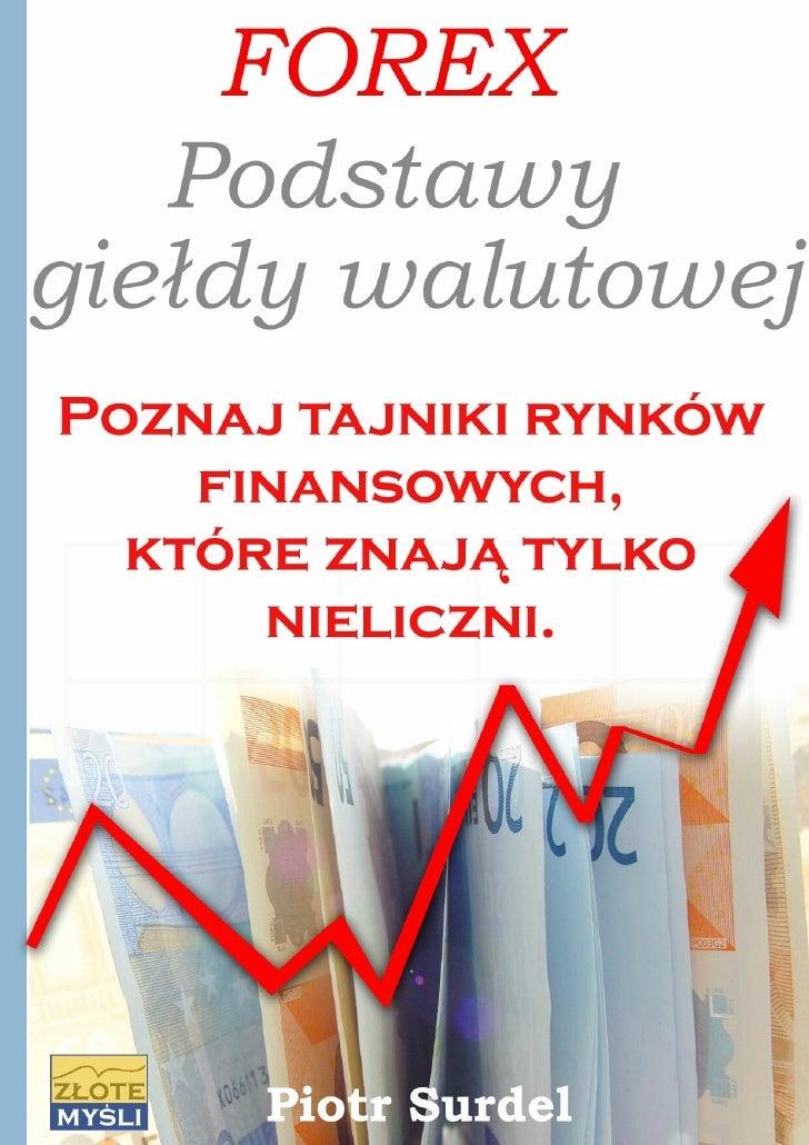 Forex podstawy gieldy walutowej