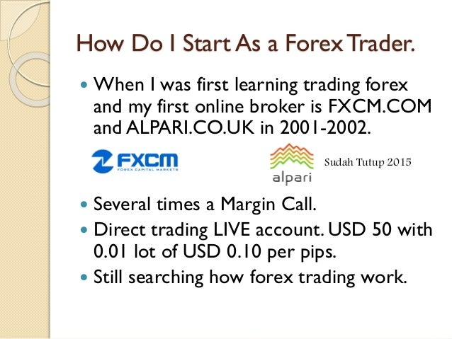 How to start forex trading with less than 500