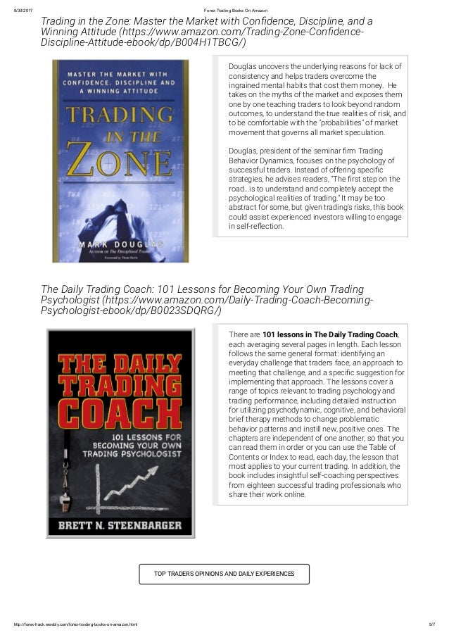 Books about forex