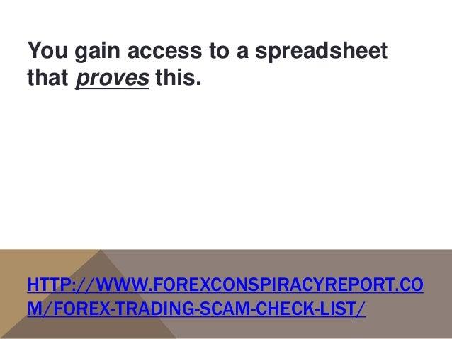 Forex scam list