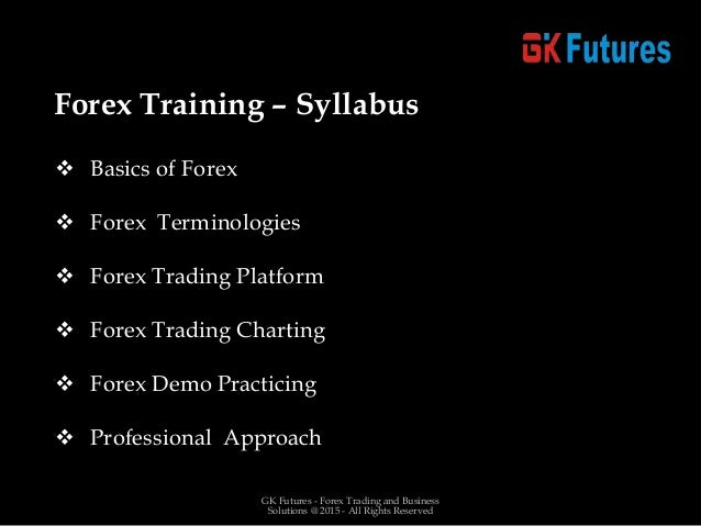 Forex trading-training-course-tripur
