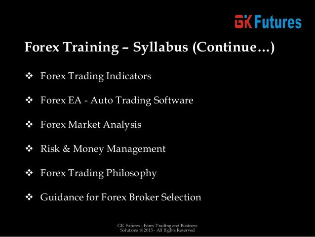 Forex coaching solutions