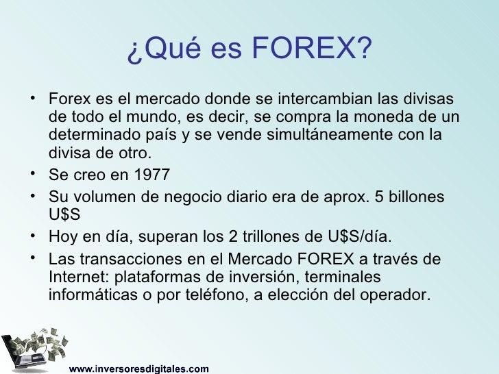 Que son forex экономические индикаторы японии англии канады еврозоны для рынка форекс