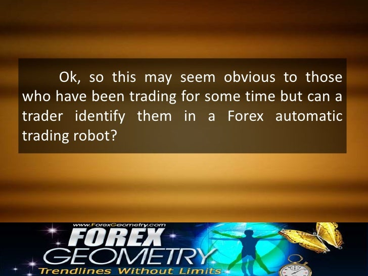 Robot trading forex automated
