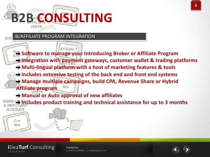 Forex consultant