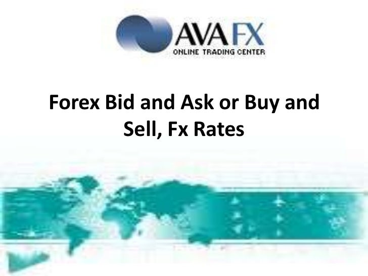 Rate rate and currency trading in Bid Ask