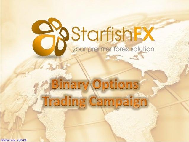 Starfish fx binary options
