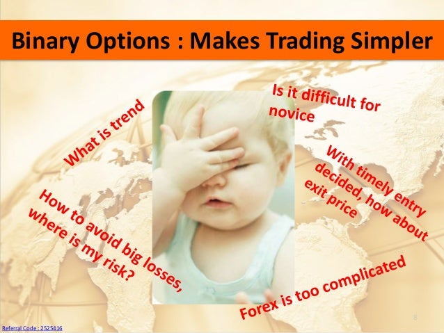 Binary options referral