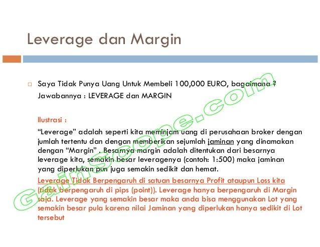 Leverage dan Margin Saya Tidak Punya Uang Untuk Membeli 100,000 EURO, bagaimana ? Jawabannya : LEVERAGE dan MARGIN Ilustra...