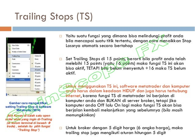 Komputer sistem perdagangan otomatis.