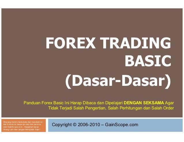 FOREX TRADING                                                       BASIC                                                (...
