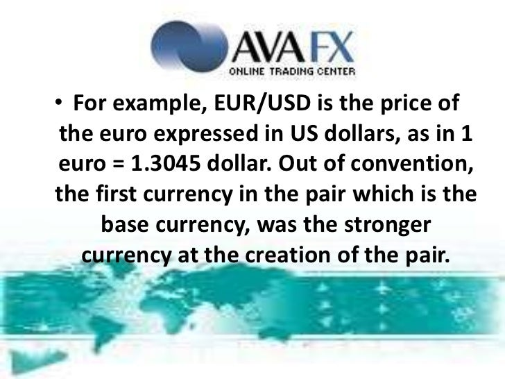 Forex definition of terms