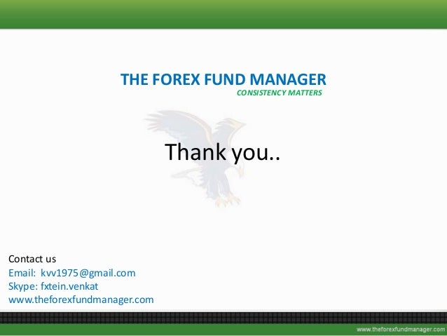 Forex fund managers