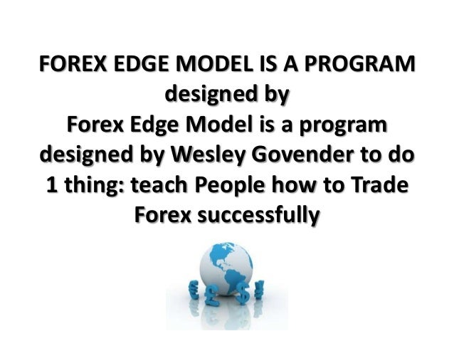 Forex edge model