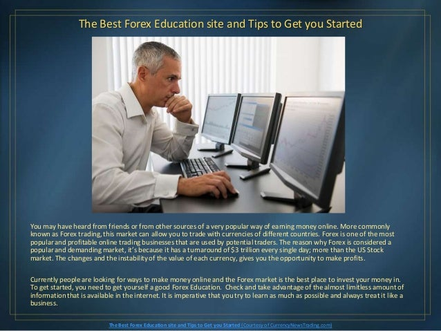 Forex education sites