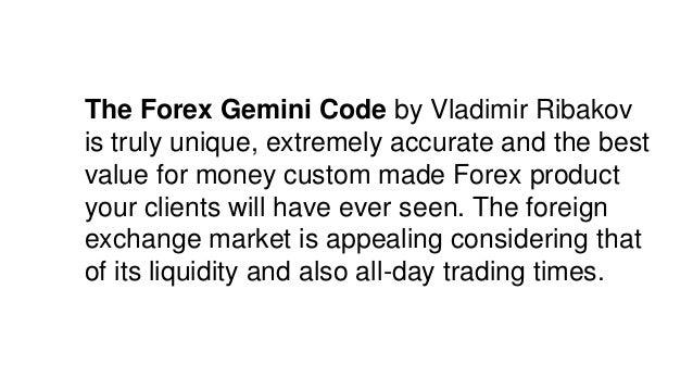 Forex gemini code ebay