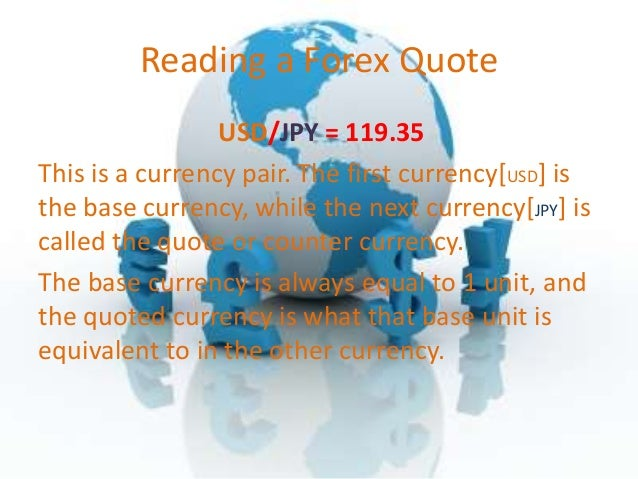 Forex base currency explained