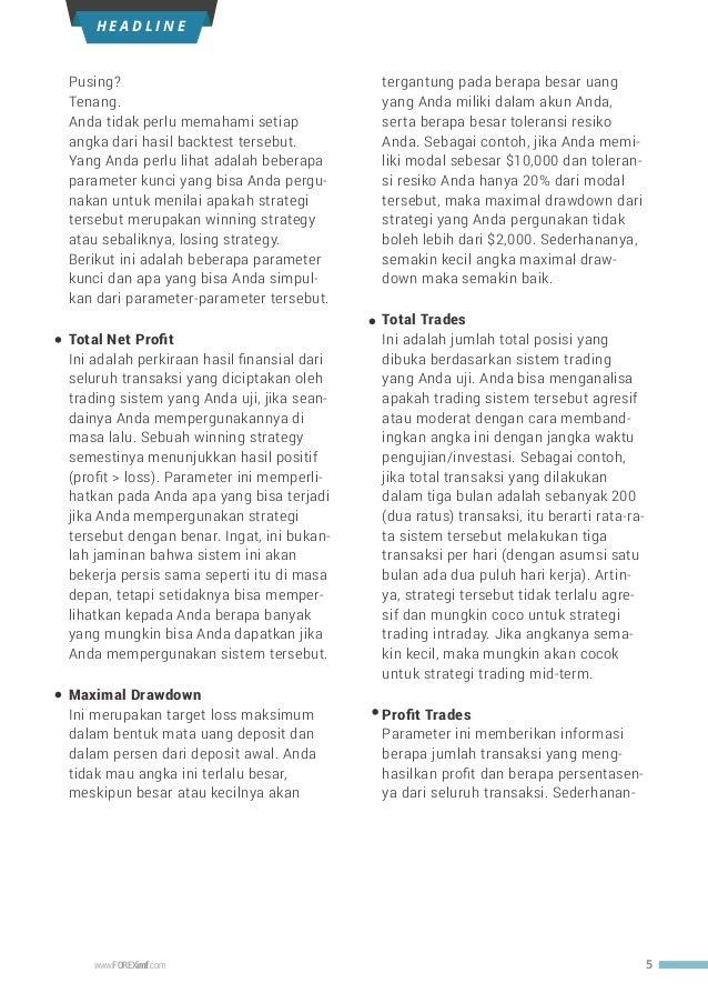 Cara Backtest Strategi Trading Di Mt4 « Strategi perdagangan opsi biner