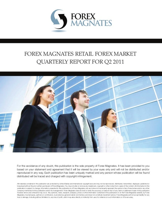 Forex market research report