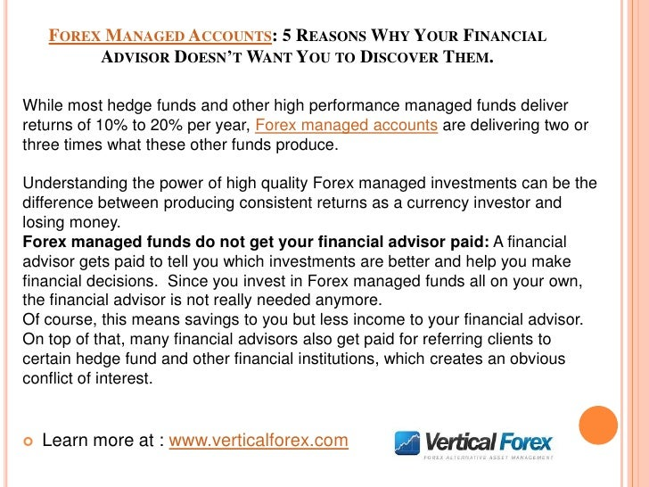 Forex managed funds review бинарные опционы в рублях