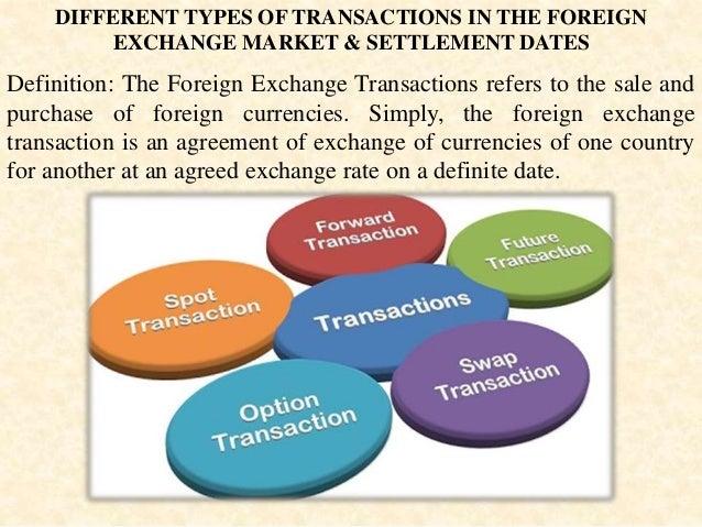 Forex transaction