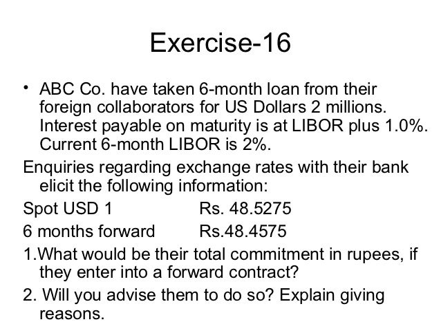 Forex contracts explained