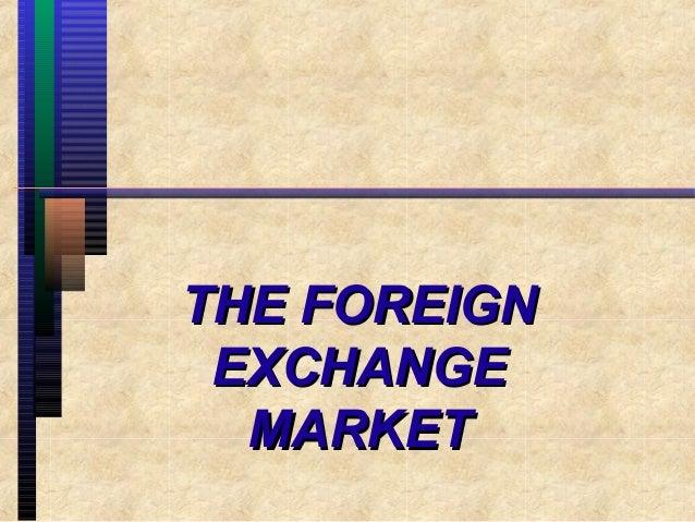 Forex market ppt slide