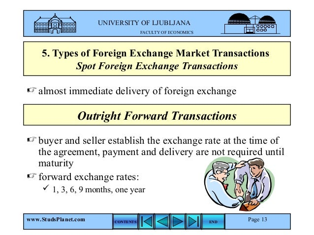 Forex outright