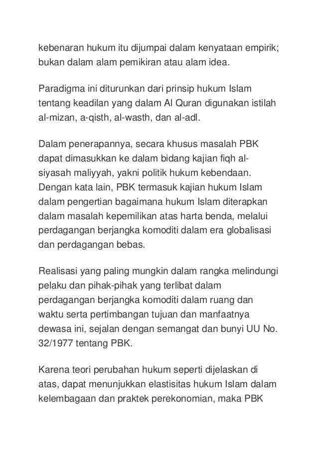 Forex dari hukum islam