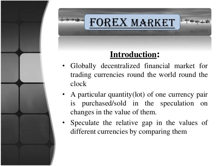 Forex mlm