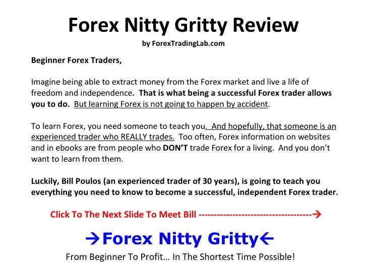 Forex nitty gritty советник форекс rebis v 1.2