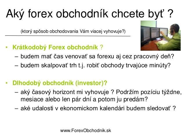 Obchodovanie forex