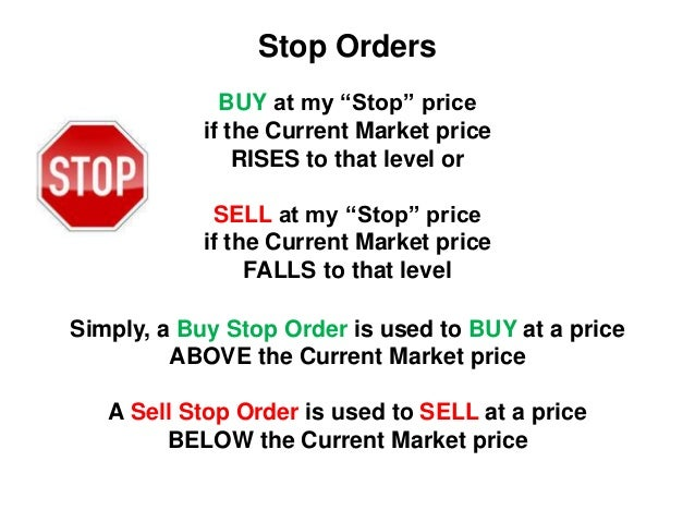 Stop limit forex