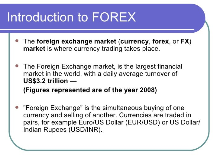 Forex foreign currency exchange
