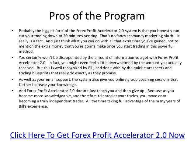 Forex profit accelerator 2.0 review