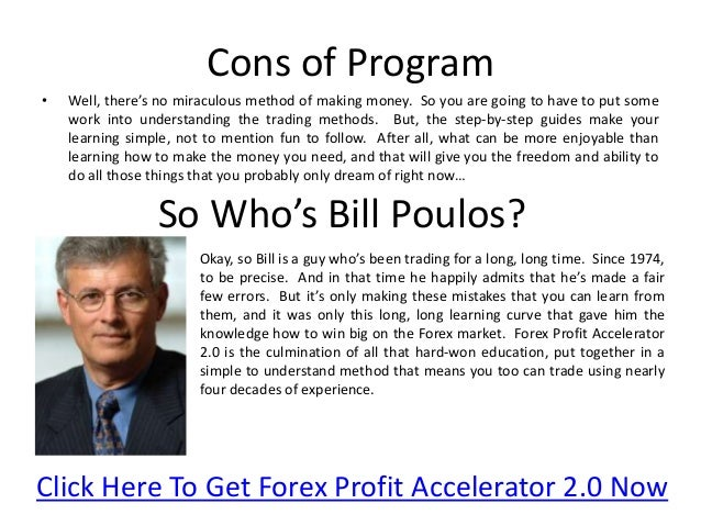 Bill poulos forex